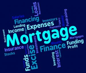mortgage-word-shows-home-loan-and-debt